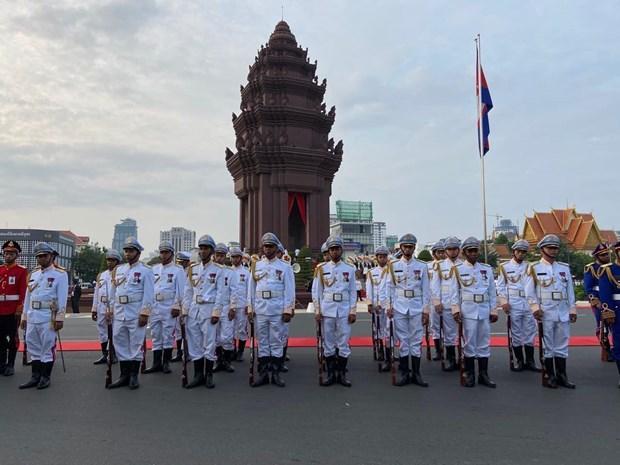 Celebra Camboya el 66 aniversario de su Dia Nacional hinh anh 1