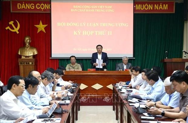 Sesiona Consejo Teorico Central del Partido Comunista de Vietnam hinh anh 1