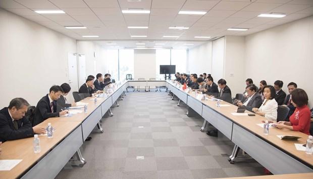 Promueven potencialidades de cooperacion entre localidades vietnamitas y Japon hinh anh 1