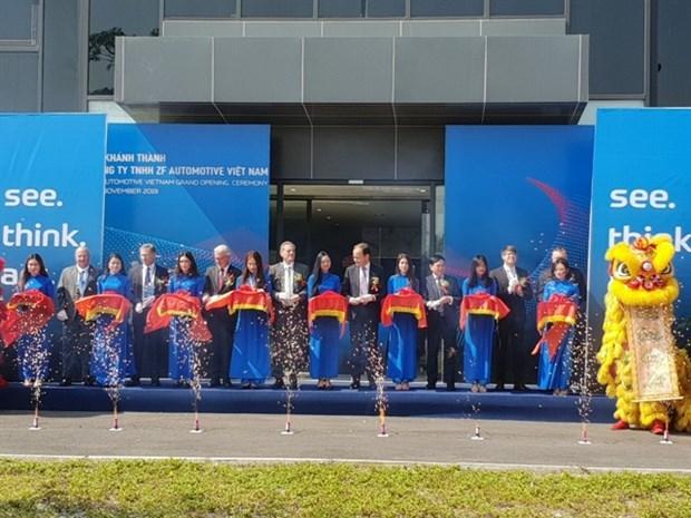 Empresa alemana ZF inaugura su primera planta en Vietnam hinh anh 1