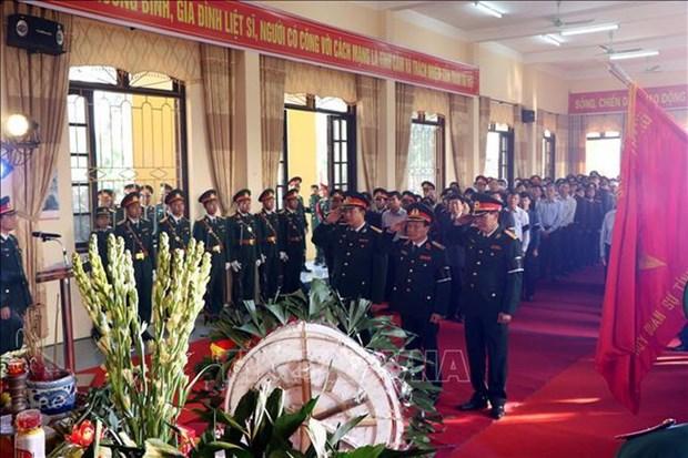 Provincia vietnamita de Hai Duong rinde homenaje postumo a martires hinh anh 1