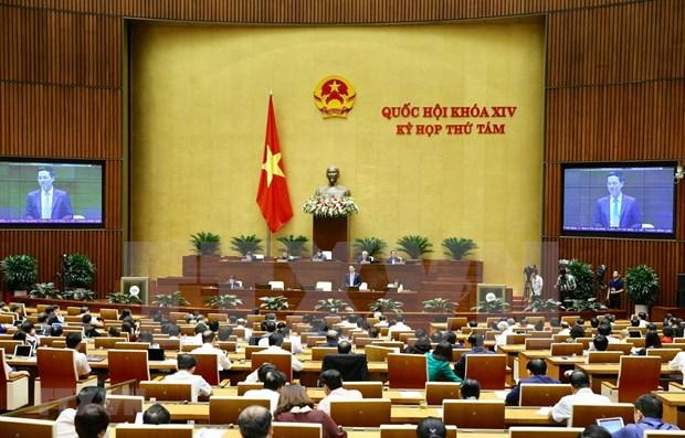 Parlamento de Vietnam considerara aprobacion de resolucion sobre desarrollo socioeconomico 2020 hinh anh 1