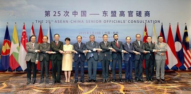 Fomentan ASEAN y China lazos en cultura, sociedad y economia hinh anh 1