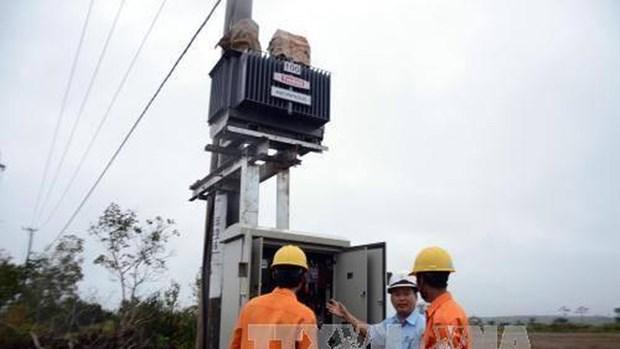 Mejora la provincia vietnamita de Dak Nong sistema de suministro electrico a Camboya hinh anh 1