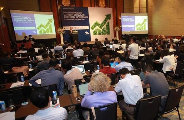Vietnam por encaminarse hacia economia circular con experiencias de Suecia hinh anh 1