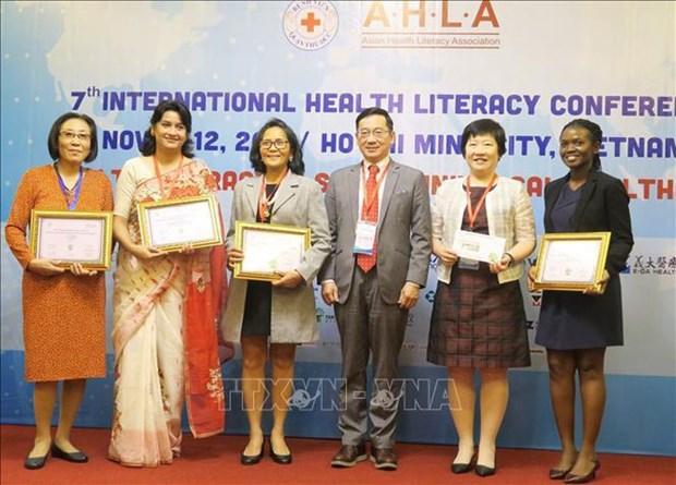 Efectuan en Vietnam Conferencia Asiatica sobre Alfabetizacion en Salud hinh anh 1