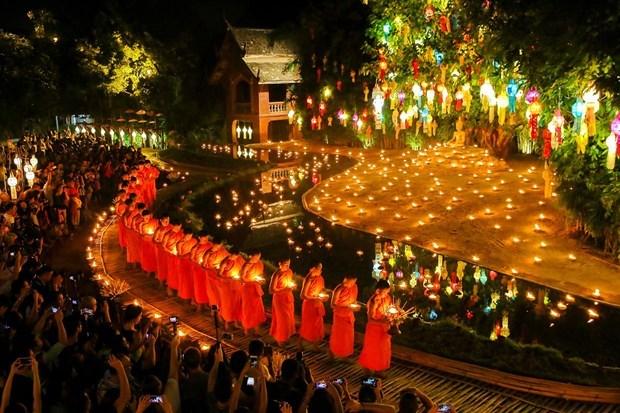 Prohiben en Tailandia los fuegos artificiales durante festival Loy Krathong hinh anh 1
