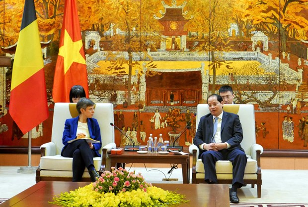 Impulsan cooperacion entre Hanoi y provincia belga de Amberes hinh anh 1