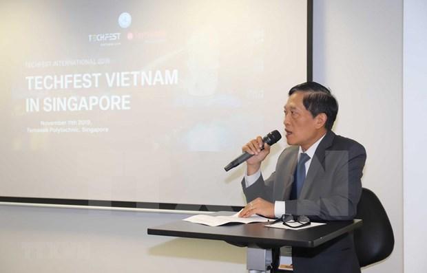 Presentan en Singapur potencialidades de Vietnam para estimular el emprendimiento hinh anh 1