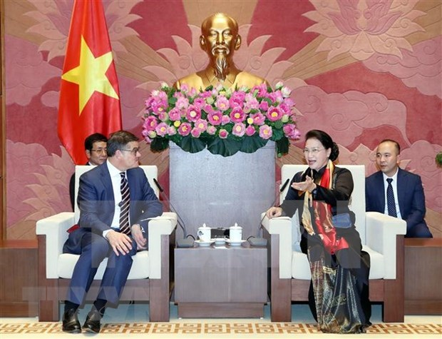 Ratifica Vietnam interes de fortalecer cooperacion con Alemania hinh anh 1
