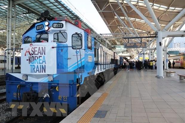 Destaca presidente sudcoreano papel de ASEAN en su Nueva Politica del Sur hinh anh 1