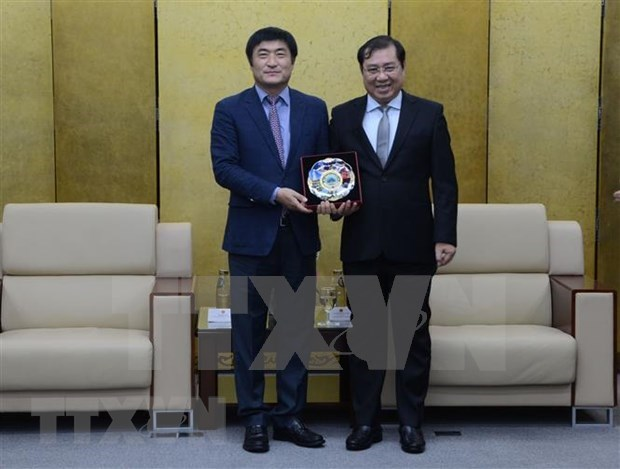 Respalda Corea del Sur a Da Nang en el alivio de desastres naturales hinh anh 1