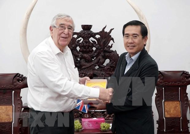 Explora Reino Unido potencialidades de cooperacion con provincia vietnamita de Ninh Thuan hinh anh 1