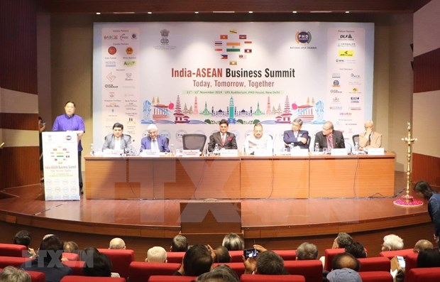 Incrementara la ASEAN sus lazos economicos con la India hinh anh 1