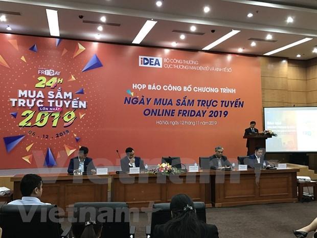 """Busca Vietnam promover consumo durante el """"Viernes en linea"""" 2019 hinh anh 1"""