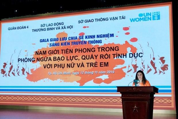 Impulsa Vietnam mayor incorporacion de hombres en combate contra violencia de genero hinh anh 1