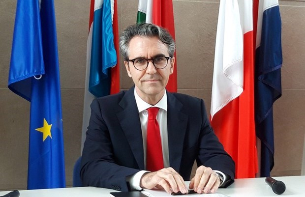 Destaca nuevo embajador de la UE a Vietnam como socio potencial de esa comunidad regional hinh anh 1