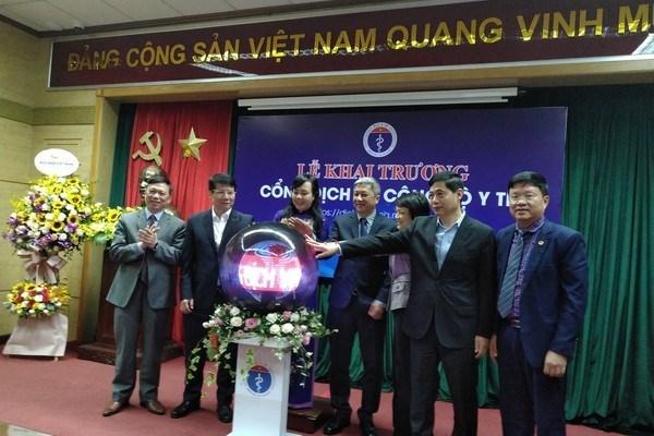 Inaugura Ministerio de Salud de Vietnam portal de servicios publicos hinh anh 1