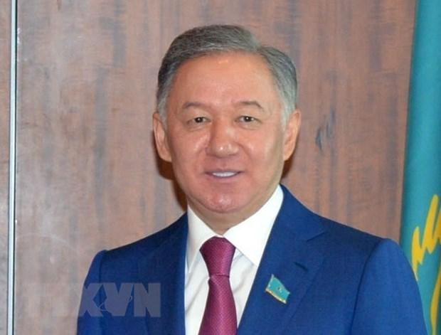 Presidente de la Camara Baja de Kazajstan comienza visita oficial a Vietnam hinh anh 1