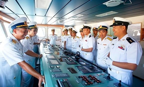 Realiza visita Vietnam un buque de la Armada de Myanmar hinh anh 1