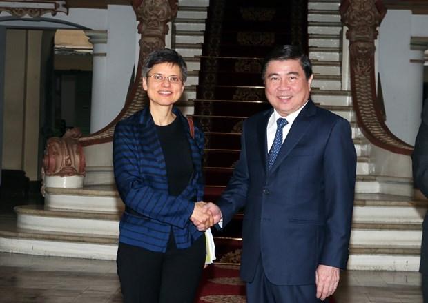 Intensifica Ciudad Ho Chi Minh cooperacion con la provincia belga de Amberes hinh anh 1