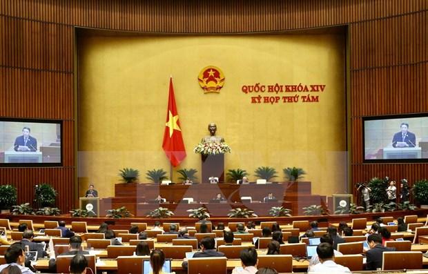 Parlamento de Vietnam aprobara resolucion sobre distribucion de presupuesto para 2020 hinh anh 1