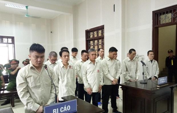 Condenan en Vietnam a pena de muerte a traficantes de drogas hinh anh 1