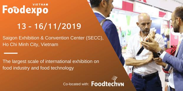 Impulsan en Vietnam cooperacion comercial durante Foodexpo 2019 hinh anh 1