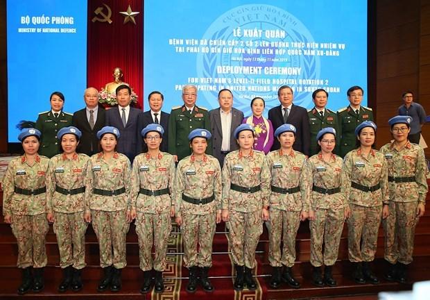 """Segundo hospital de campana de Vietnam en Sudan del Sur sera """"libre de basuras plasticas"""" hinh anh 1"""