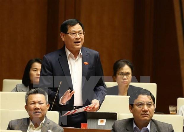 Parlamento de Vietnam considerara aprobacion de resolucion sobre distribucion del presupuesto hinh anh 1
