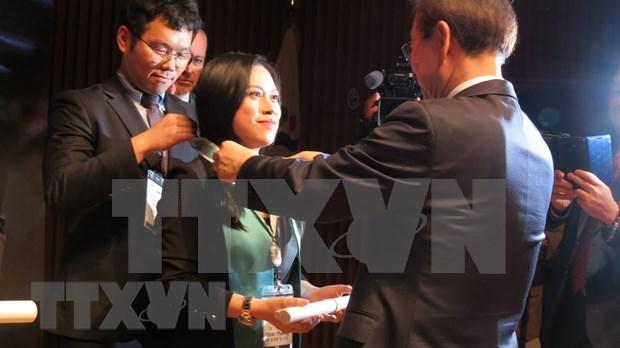 Seul otorga por primera vez titulo de ciudadania honoraria a una vietnamita hinh anh 1