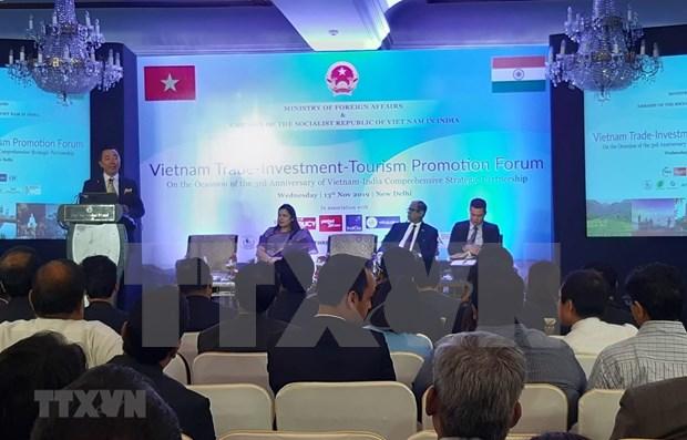Proyectan promover relaciones comerciales entre Vietnam y la India hinh anh 1