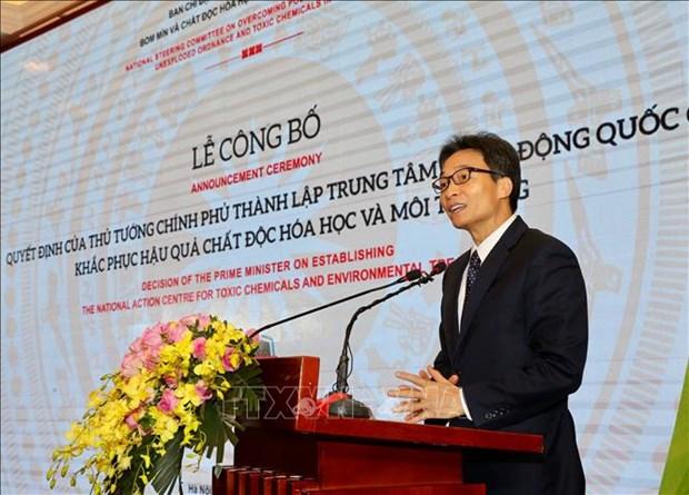 Crea Vietnam centro de accion nacional para tratamiento de contaminacion quimica y ambiental hinh anh 1