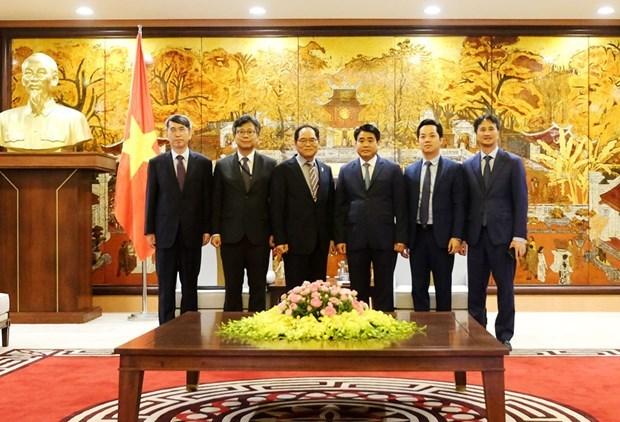 Promete Hanoi optimas condiciones para inversores surcoreanos hinh anh 1