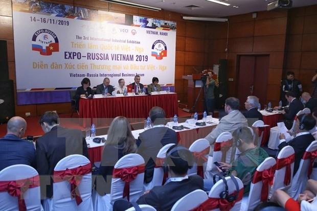 Buscan Vietnam y Rusia aumentar la cooperacion economica y comercial hinh anh 1