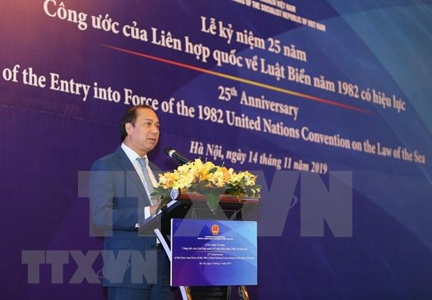 Prioriza Vietnam cumplimiento de Convencion de las Naciones Unidas sobre el Derecho del Mar hinh anh 1