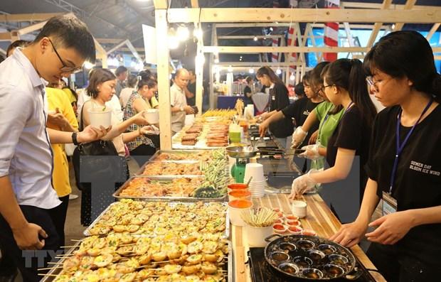 Nutrida participacion en Festival de Comida Internacional de Ciudad Ho Chi Minh hinh anh 1