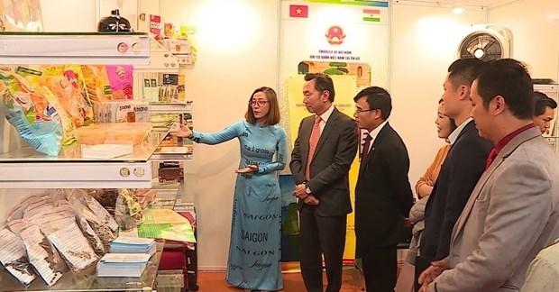 Presentan productos destacados de Vietnam en feria de comercio en la India hinh anh 1