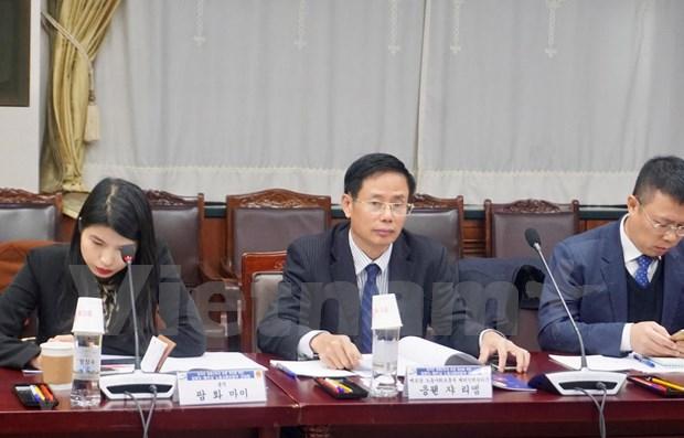Promueven el envio de trabajadores temporales de Vietnam a Corea del Sur hinh anh 1
