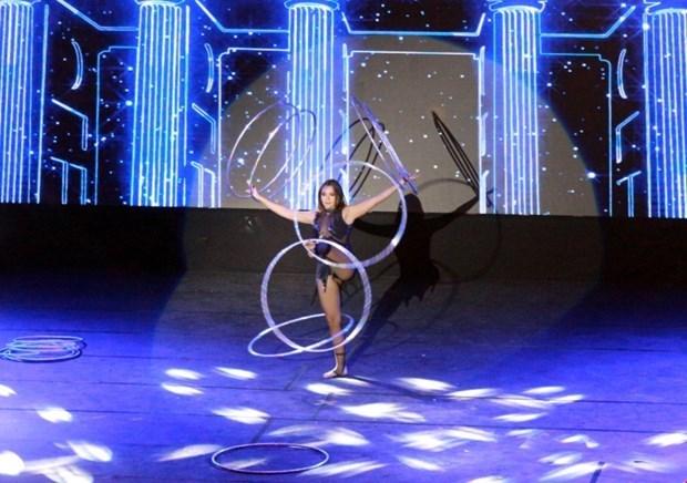 Nutrida participacion en Festival Internacional de Circo en ciudad vietnamita de Ha Long hinh anh 1