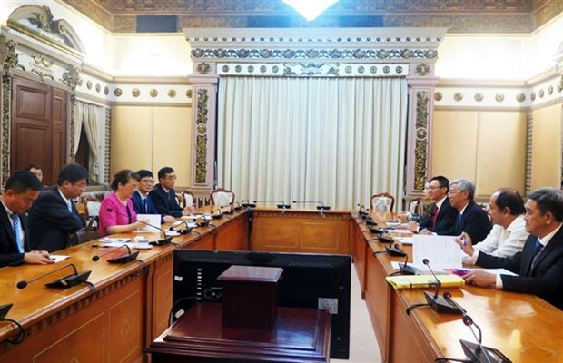Ciudad Ho Chi Minh promueve colaboracion turistica con provincia china Yunnan hinh anh 1