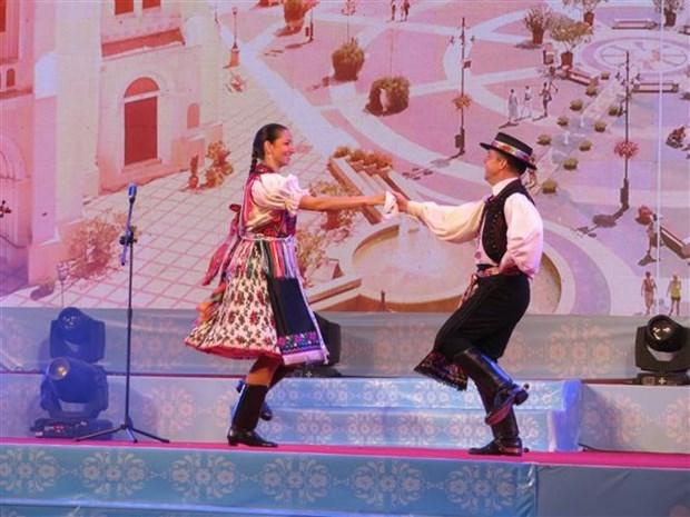 Inauguran semana cultural hungara en Can Tho hinh anh 1