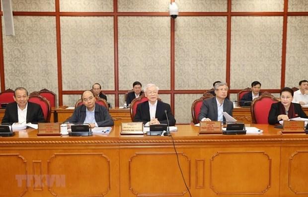 Buro Politico del PCV examina desarrollo de ciudades centrales hinh anh 1