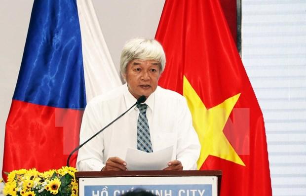 Conmemoran en Ciudad Ho Chi Minh Dia Nacional de Republica Checa hinh anh 1