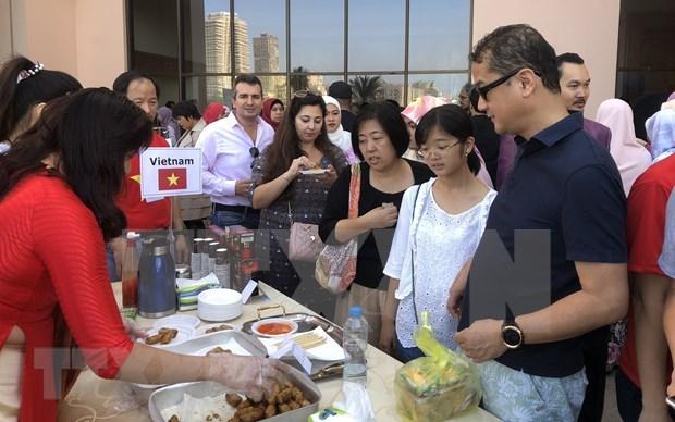 Promueven imagen de Vietnam en feria de caridad en Egipto hinh anh 1