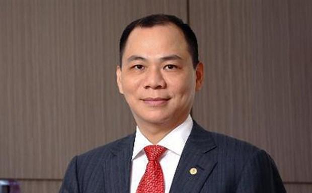 Presidente de Vingroup entre 50 personas con mayor influencia en parques tematicos del mundo hinh anh 1
