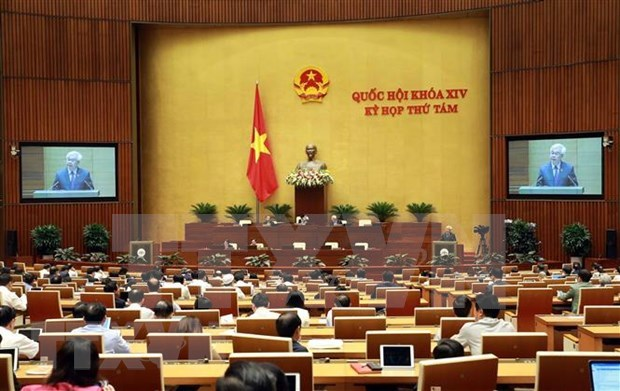 Prosigue Parlamento de Vietnam debate de diferentes leyes hinh anh 1