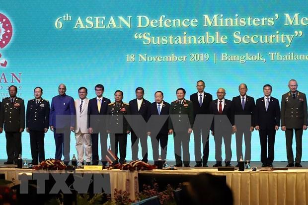 Debaten ministros de Defensa de la ASEAN temas de seguridad regional hinh anh 1