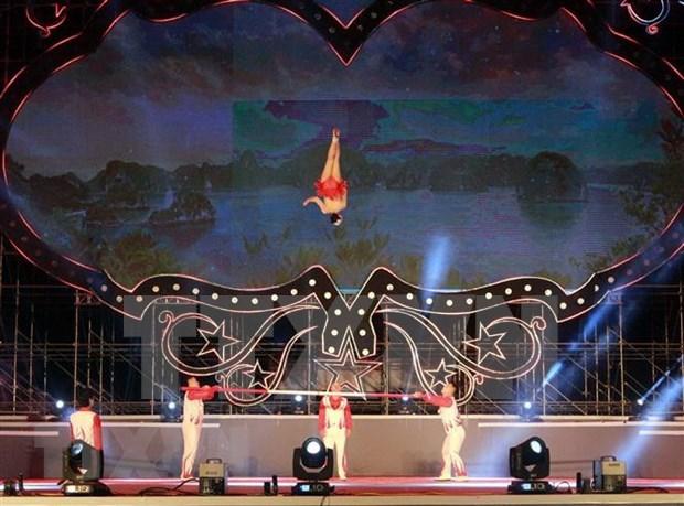 Entregan en Festival Internacional de Circo de Ha Long premios a artistas destacados hinh anh 1