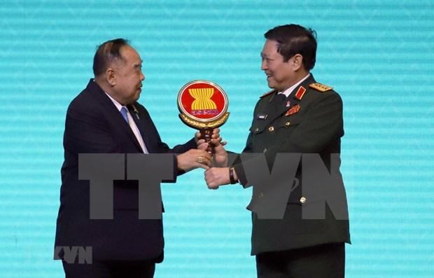Asume Vietnam presidencia de Reunion de Ministros de Defensa de ASEAN hinh anh 1